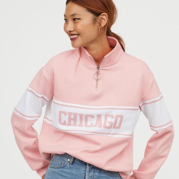 mejor selección e052b f4f1a NWT - H&M Sweatshirt with Collar NWT